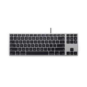 Matias  RGB Backlit Wired Aluminum Tenkeyless Keyboard for Mac - Space Gray 英語配列 FK308LB|y-diatec