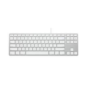 Matias Wired Aluminum Tenkeyless Keyboard for Mac - Silver 英語配列 FK308S|y-diatec