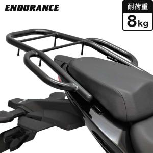 【ENDURANCE】 ジクサー150 ED13N  ジクサー250 ED22B ジクサーSF250 ED22B タンデムグリップ付きリアキャリア|y-endurance