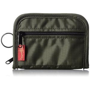 [ノーマディック] 財布 二つ折り財布 SA-01 カーキ