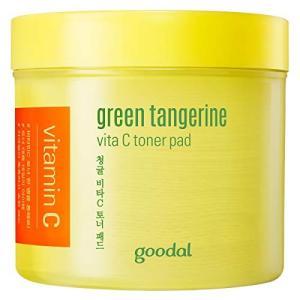 Goodal チョンギュルビタCトナーパッド70枚 Green Tangerine Vita C T...