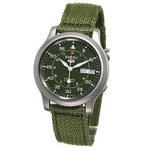[セイコー] SEIKO 5 腕時計 自動巻き 海外モデル ミリタリー カーキ グリーン SNK805K2 メンズ [逆輸入品]|y-evolution