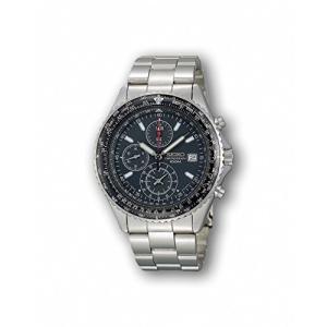 セイコー 逆輸入モデル SEIKO パイロット クロノグラフ 100m防水 ブラック SND253P1(SND253PC) メンズ 腕時計 時計|y-evolution