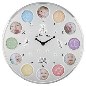 ラドンナ ベビーフレーム MB21 12ヶ月ベビーフレーム 時計 ミニ シルバー 成長記録|y-evolution