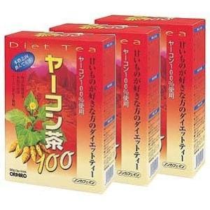 オリヒロ ヤーコン茶100 30H【3箱セット】 y-evolution