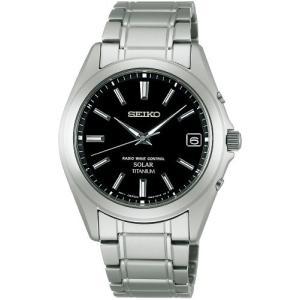 [セイコーウォッチ] 腕時計 スピリット ソーラー電波修正 サファイアガラス スーパークリア コーティング チタン SBTM217 シルバー|y-evolution