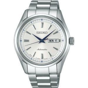 [セイコーウォッチ] 腕時計 プレザージュ メカニカル 自動巻 (手巻つき) サファイアガラス SARY055 メンズ シルバー|y-evolution