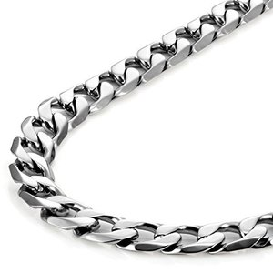 Classic Mens Necklace メンズ ネックレス 316L Stainless Steel Silver Chain Color (53|y-evolution
