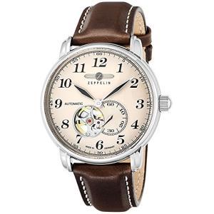 [ツェッペリン] 腕時計 LZ126 LosAngeles 7666-5 並行輸入品 ブラウン|y-evolution