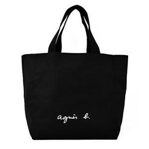 agnes b. VOYAGE アニエスベー ボヤージュ コットン トートバッグ (ブラック)|y-evolution