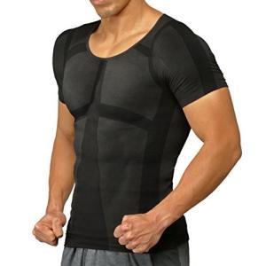 加圧シャツ ヒロミプロデュース パンプマッスルビルダーTシャツ(Lサイズ/ブラック) y-evolution