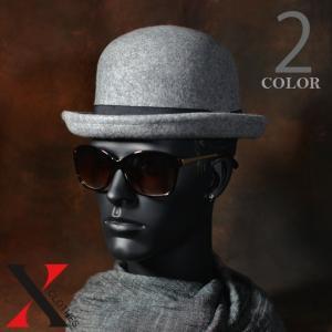 9月7日新作 帽子 メンズ ハット ウール フェルト ボーラ― テープ ブラック グレー メンズ帽子 メンズファッション|y-fit