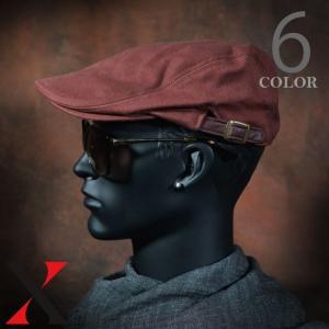 帽子 メンズ ハンチング ハンチング帽 無地 ツイル ブラック ネイビー メンズ帽子 メンズファッション|y-fit