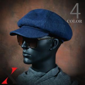帽子 メンズ キャスケット コットン ツイル ベレー帽 ブラック ベージュ 綿 メンズ帽子 メンズファッション|y-fit