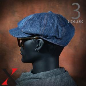 帽子 メンズ キャップ キャスケット ウォッシュデニム デニム ブラック ネイビー メンズ帽子 メンズファッション|y-fit