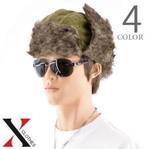 帽子 メンズ キャップ アビエーターキャップ コーデュロイ ファー 防寒 メンズファッション|y-fit