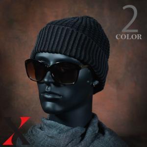 帽子 メンズ ニット ワッチキャップ デニム糸 デニム リブニット リブ コットン インディゴ染め|y-fit