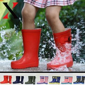 レインブーツ キッズ 紺 レインシューズ キッズ 長靴 キッズ 雪 レインブーツ キッズ 雨靴 キッズ レディース|y-fit