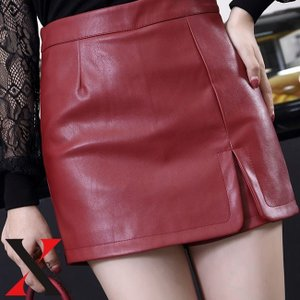 ショートパンツ レディース パンツ ミニ ショート丈 フェイクレザー PU 合成皮革 スカパン スカート|y-fit