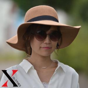 女優帽 つば広 女優 帽子 レディース スエード調 レディース 帽子 ハット つば広ハット 女優帽 つば広 女優帽 ブラック 帽子|y-fit
