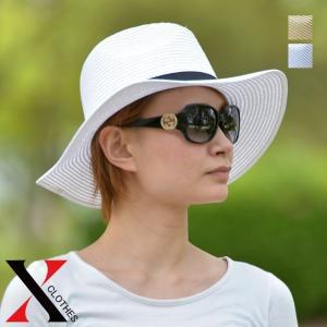 帽子 つば広 ハット レディース ペーパーハット 中折れハット UV 夏帽子 つば広 ハット ペーパーハット 中折れハット UV 夏 レディー|y-fit