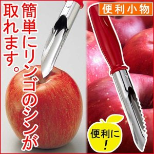 ▽商品の詳細   ■名称:リンゴのシン抜き ■商品サイズ:(約)全長175mm ■材料の種類:刃先:...