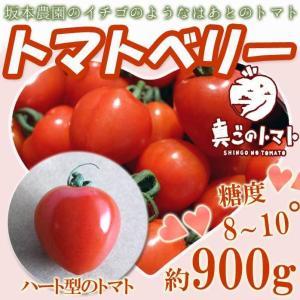 フルーツトマト ハート型のトマト トマトベリー ギフト 1kg 高糖度8〜10度以上 トマト 熊本