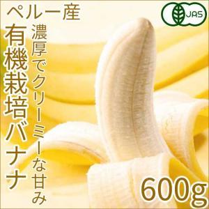 夏ギフト 有機バナナ 2房 約600g 安心安全 こくのある甘さ JAS有機 オーガニック banana ペルー産 輸入バナナ