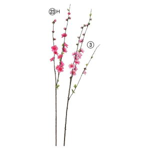 《 造花 》Asca/アスカ 桃スプレー|y-hanabishi