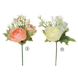 《 造花 》Asca/アスカ ミニラナンキュラスミックスピック|y-hanabishi