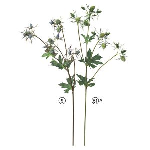 《 造花 》Asca/アスカ エリンジウム×14 y-hanabishi