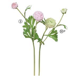 《 造花 》Asca/アスカ ラナンキュラス×2|y-hanabishi