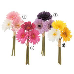 《 造花 》Asca/アスカ ミニガーベラバンチ (1束3本)|y-hanabishi