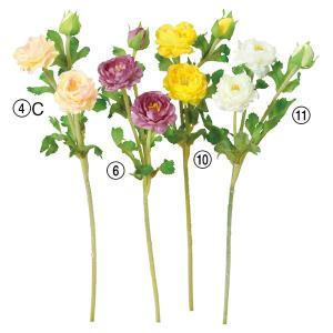 《 造花 》Asca/アスカ ミニラナンキュラス×2 つぼみ×1|y-hanabishi