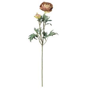 《 造花 》Asca/アスカ ラナンキュラス×1 つぼみ×1|y-hanabishi