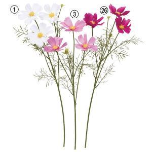 《 造花 》Asca/アスカ ☆コスモス×3 つぼみ×2|y-hanabishi
