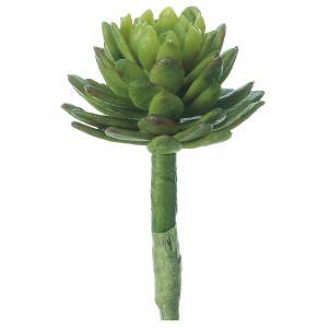 《 造花 グリーン 多肉植物 》Asca/アスカ サッカレンテン (1袋6本入)|y-hanabishi