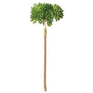 《 造花 グリーン 多肉植物 》Asca/アスカ セダムピック(1袋6本入)|y-hanabishi