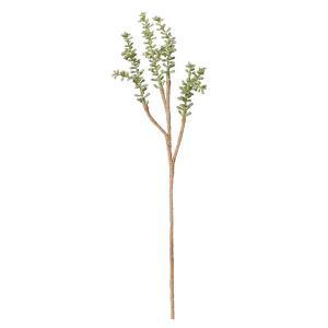 《 造花 グリーン 多肉植物 》Asca/アスカ コキアピック フロストグリーン|y-hanabishi