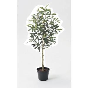 《 造花 グリーン  観葉植物 》Asca/アスカ オリーブポット オリーブ y-hanabishi