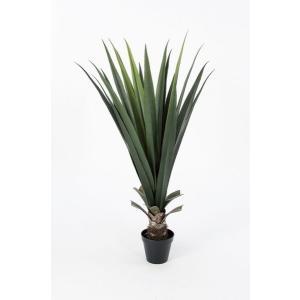 《 造花 グリーン 多肉植物 》Asca/アスカ アロエ(ポット付) グリ-ン|y-hanabishi