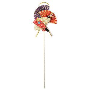 《 正月 装飾 》Asca/アスカ 扇・羽子板ピック|y-hanabishi