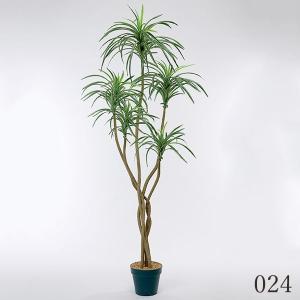 《 造花 グリーン  観葉植物 》花びし/ハナビシ 5FTユッカツリー グリーン y-hanabishi