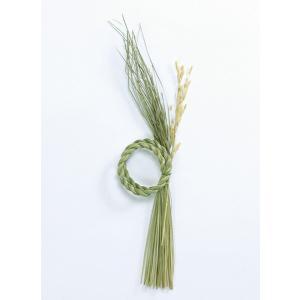 《 正月 ベース 》大地農園/オオチノウエン ワラ飾り・にのわ(イナホ付) (1セット3個入り) N|y-hanabishi