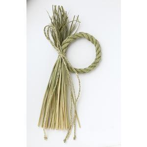 《 正月 ベース 》大地農園/オオチノウエン ワラ飾り・細縄流し N|y-hanabishi