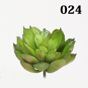 《 造花 グリーン 多肉植物 》☆即日出荷☆花びし/ハナビシ(ソクジツ) ミニエケベリアピック グリーン|y-hanabishi