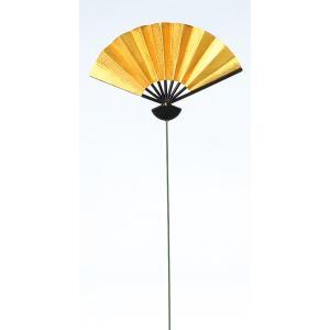 《 正月 装飾 》Parer/パレ 金扇子ピック M (1セット6本入り)|y-hanabishi