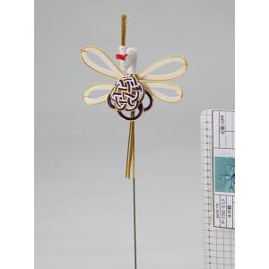 《 正月 装飾 》Parer/パレ 水引鶴 紫|y-hanabishi