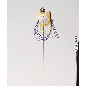 《 正月 装飾 》Parer/パレ 水引亀 L 紫|y-hanabishi