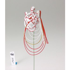 《 正月 装飾 》Parer/パレ 水引紅白亀|y-hanabishi